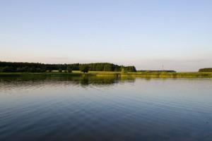 Water reservoir in the village of Zenkovichi