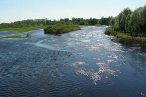 Neman River overflow