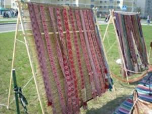 II областной праздник-конкурс мастеров по ткачеству и плетению поясов «Белорусский пояс», 23 августа 2014 года, Узда